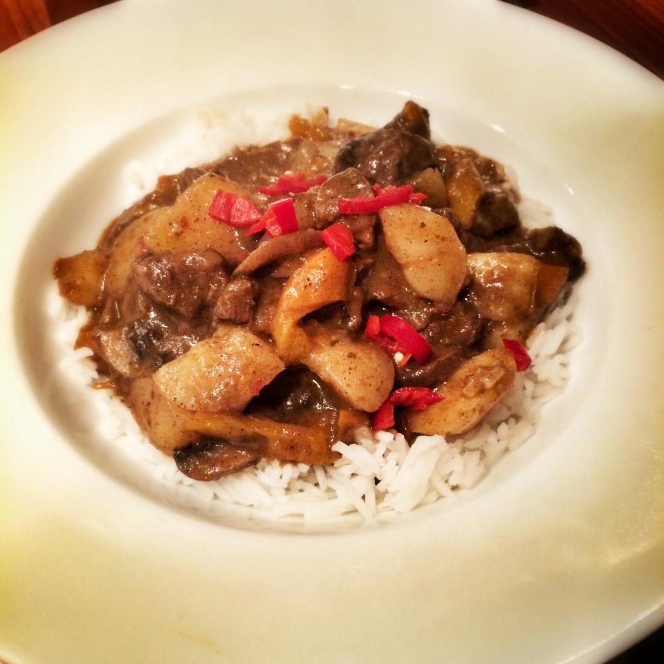 Thai Beef Massaman Curry 10sp Skinny Kitchen Secrets
