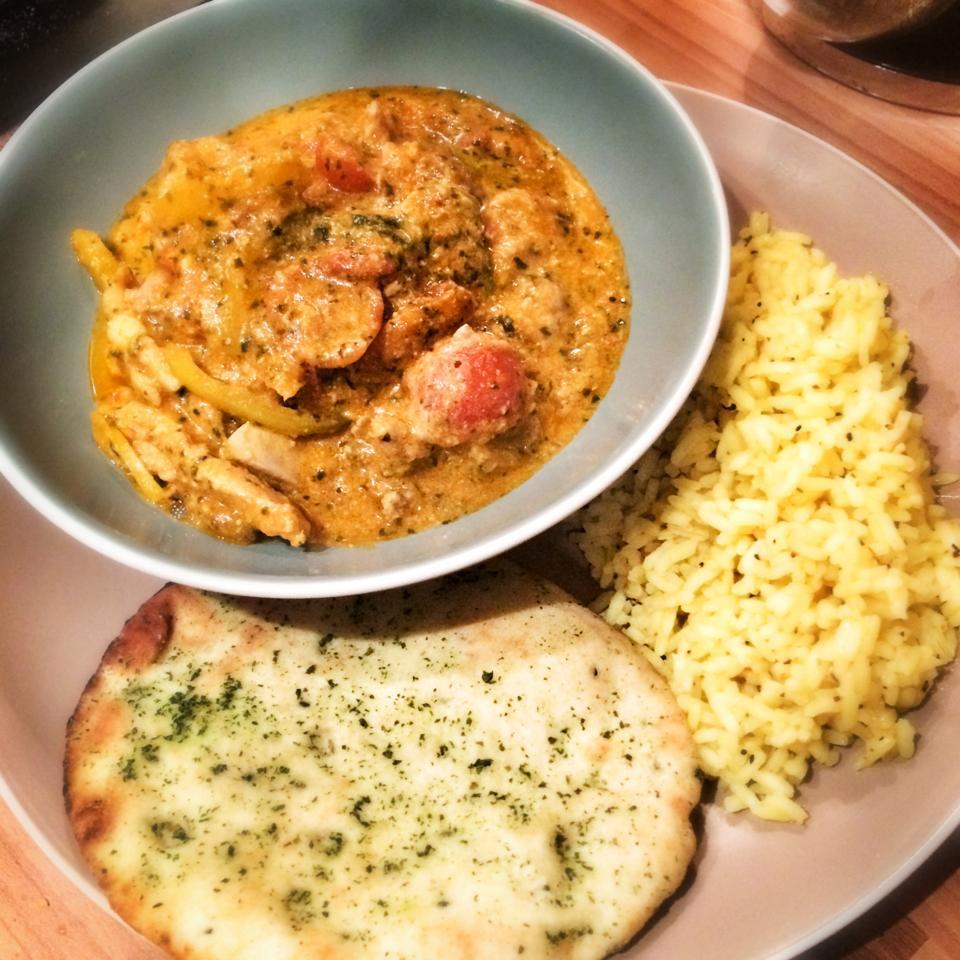 Rapid Coriander Chicken Curry 5sp Skinny Kitchen Secrets