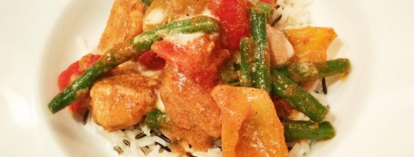 Thai Chicken Panang Curry 13sp Including Rice Skinny