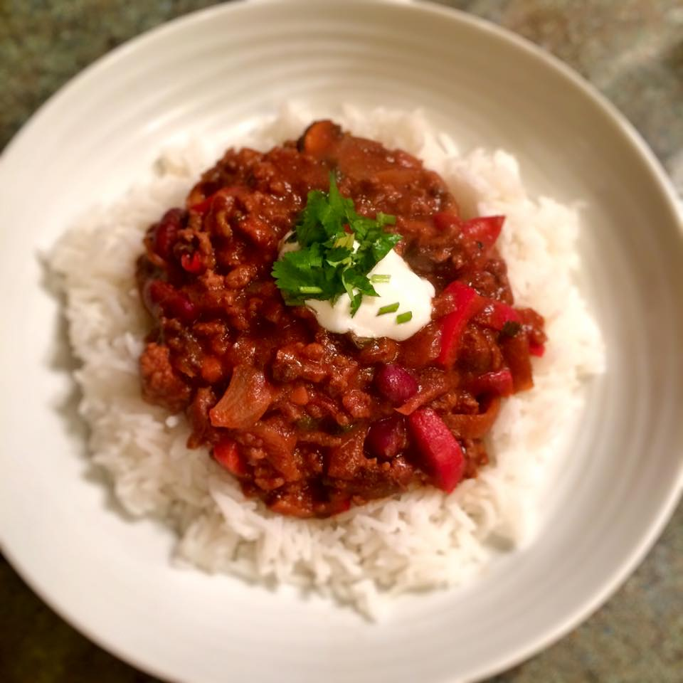 Chilli con carne 6sp skinny kitchen secrets for Giant chilli thai