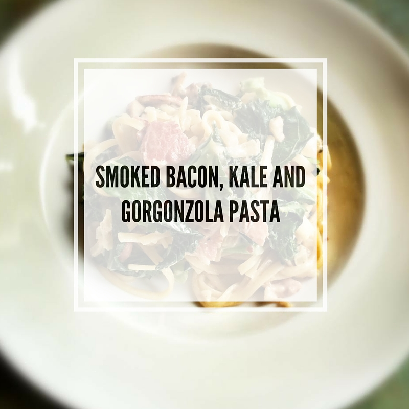 BACON, GORGONZOLA AND KALESALAD (12)