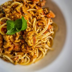Pork, fennel and nduja ragu