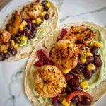 Cajun Prawn Tacos